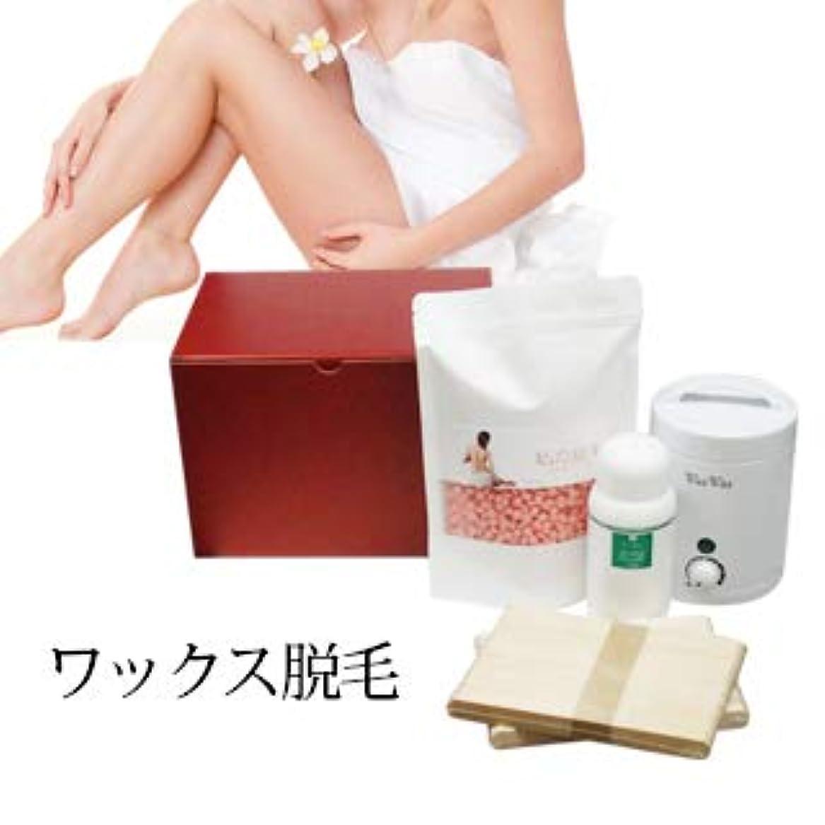 医薬羽化合物【レディース 私の脱毛】WaxWax ワックス脱毛キット