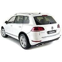 ウィリー 1/18 VW トゥアレグ ホワイト 完成品