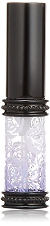 ターゲットテセウス短くするヒロセアトマイザー ラメ 薔薇 ガラスアトマイザー 16121 PU (メタルラメバラ パープル)