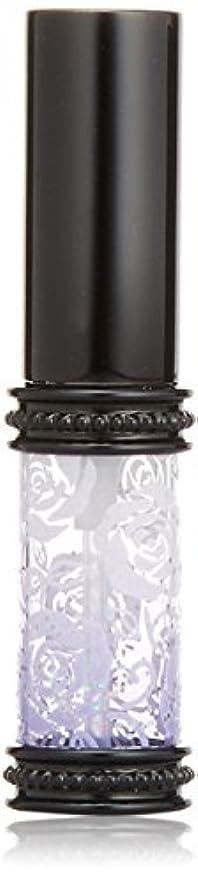 論文ロッジインシュレータヒロセアトマイザー ラメ 薔薇 ガラスアトマイザー 16121 PU (メタルラメバラ パープル)