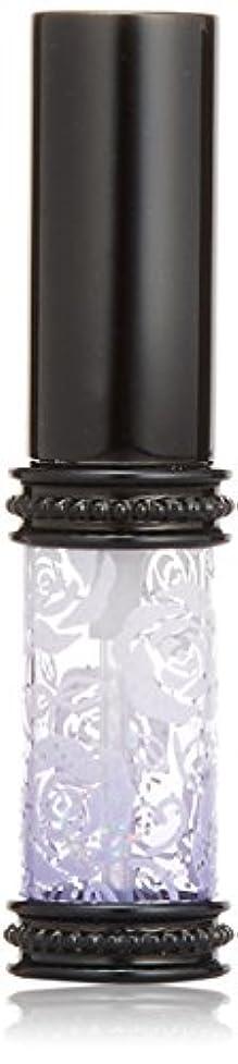 運命的な信号余分なヒロセアトマイザー ラメ 薔薇 ガラスアトマイザー 16121 PU (メタルラメバラ パープル)
