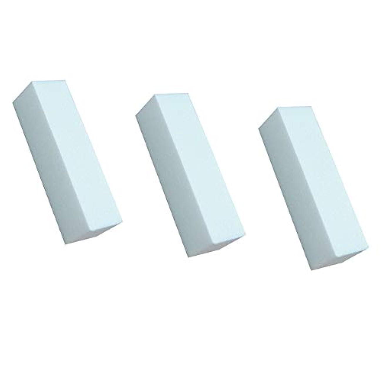 自発的浸した活力3白いマニキュアバッファ研磨工具研磨ファイルネイルファイルネイルケア美容シート