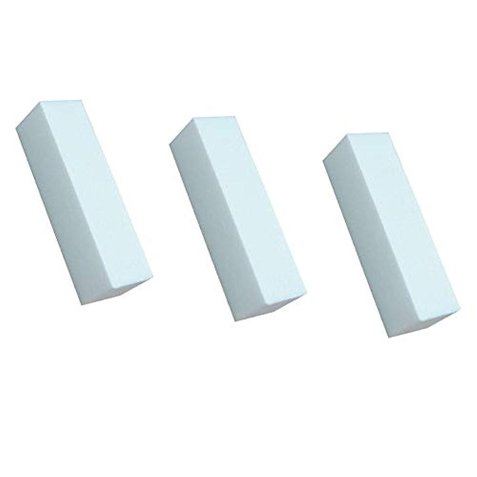 類似性グループ熱3白いマニキュアバッファ研磨工具研磨ファイルネイルファイルネイルケア美容シート