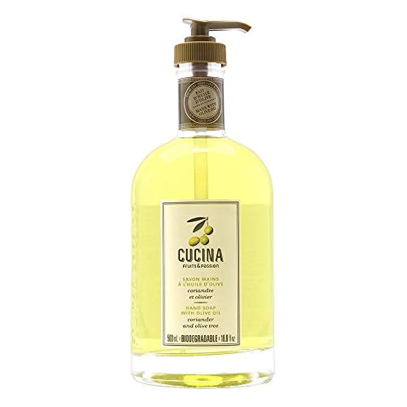 パイント世紀ホールドオールCucina Purifying Hand Soap, Glass Dispenser Lime Zest 16.9 oz. by Cucina