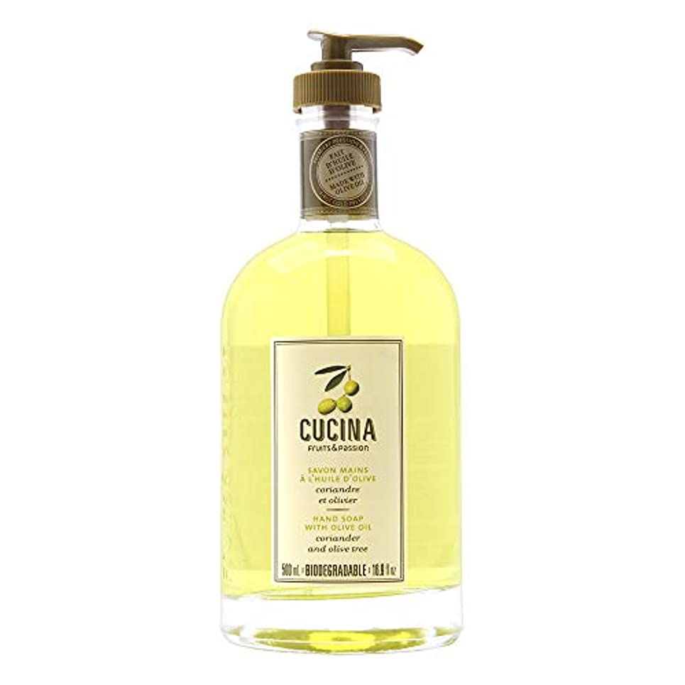 岩閉じ込める歯科のCucina Purifying Hand Soap, Glass Dispenser Lime Zest 16.9 oz. by Cucina