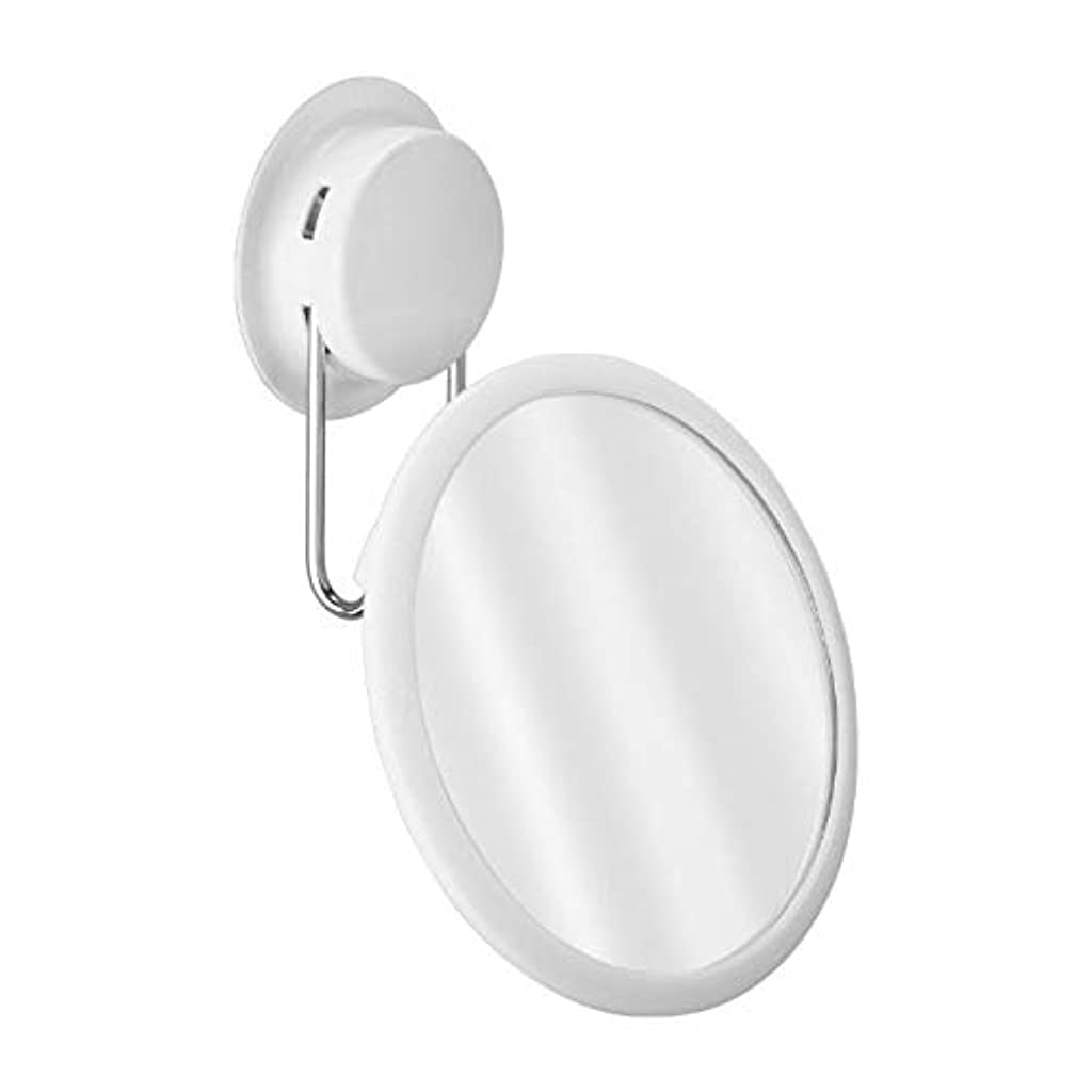 怖がらせる軽くランデブー化粧鏡、強力な吸盤ラック無料パンチ浴室洗面化粧台ミラー化粧ギフト
