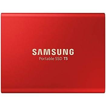 Samsung 外付けSSD T5 500GB USB3.1 Gen2対応 限定赤モデル 【PlayStation4 動作確認済】 正規代理店保証品 MU-PA500R/EC
