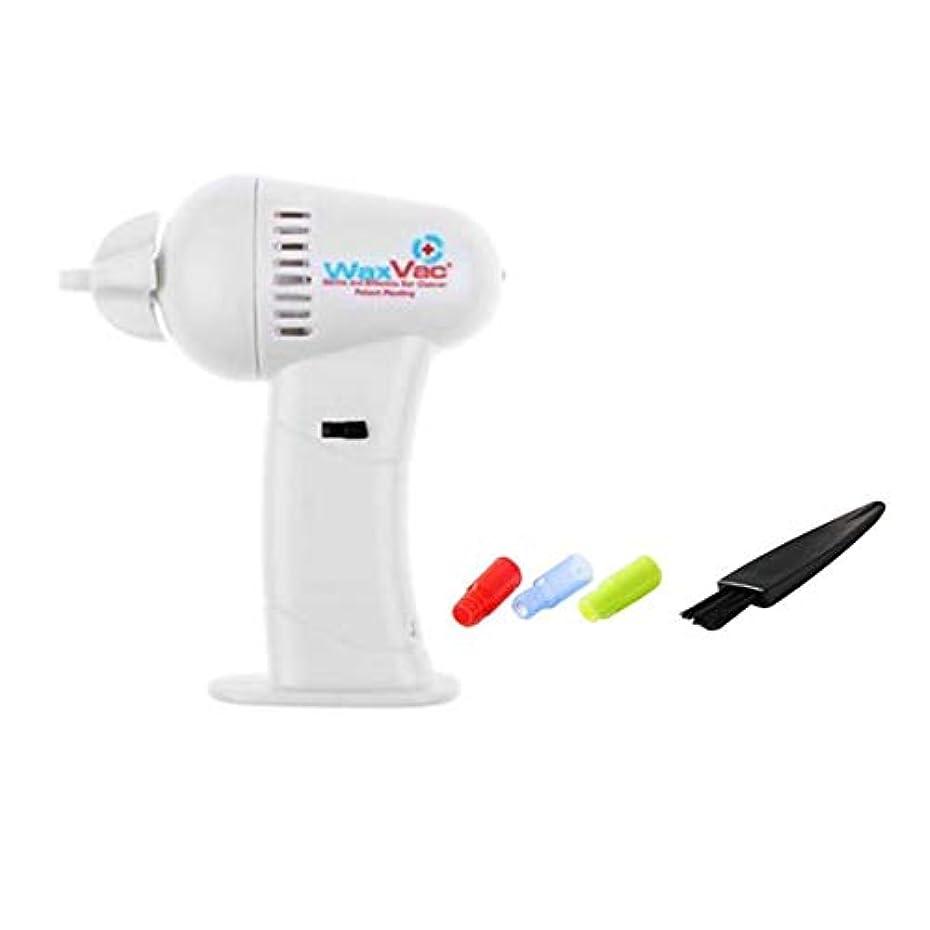 予言する任命する風変わりなIntercoreyポータブルサイズ電子耳掃除機耳ワックスVac除去安全ボディヘルスケアでソフト&安全ヘッド
