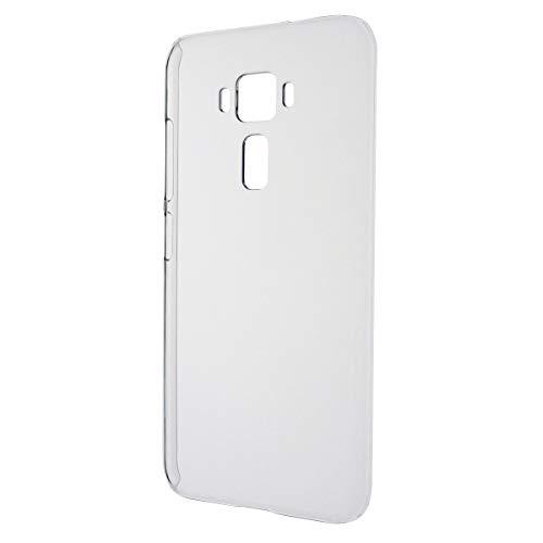 ASUS ZenFone 3 ZE520KL [ 5.2インチモデル ] SIMフリー (楽天モバイル) シンプル クリアケース 透明ハードタイプ ポリカーボネート製