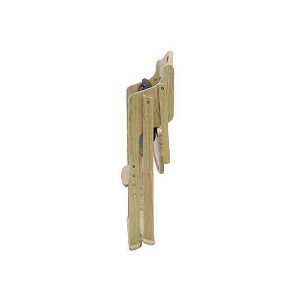 カトージ 木製ワイドハイチェア ステップ切り替...の紹介画像6