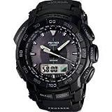 カシオ CASIO プロトレック PRO TREK PRG-550-1A1 ブラック 方位 気圧 高度計測可能 タフソーラー モデル メンズ 腕時計 時計 【逆輸入品】