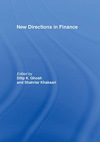 New Directions in Finance (English Edition)