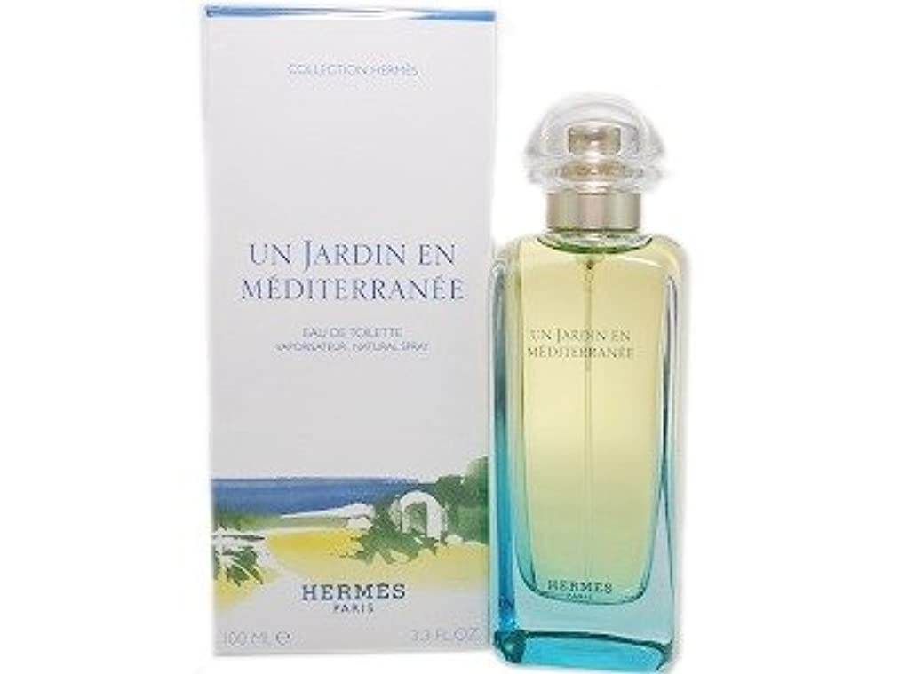 直接検出可能まっすぐにするHERMES エルメス 地中海の庭 オードトワレ 100ml EDT (並行輸入品)