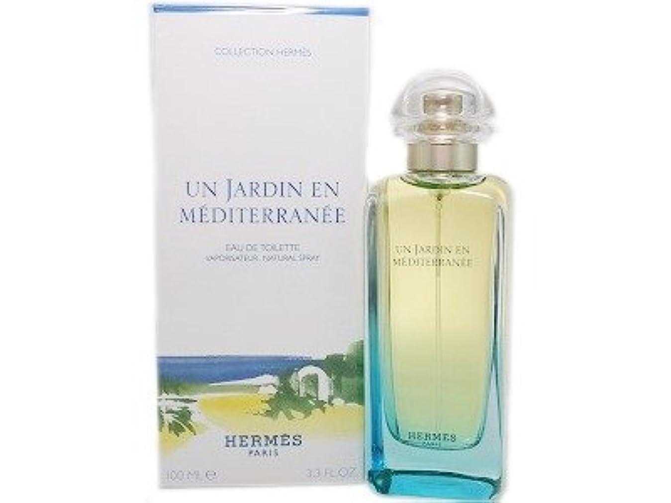 インディカ鮫眠いですHERMES エルメス 地中海の庭 オードトワレ 100ml EDT (並行輸入品)