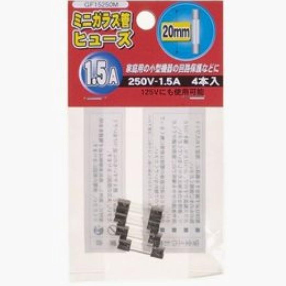 謝罪する確かに発明する【まとめ 2セット】 YAZAWA ミニガラス管ヒュ-ズ20mm 250V GF15250M