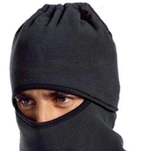 これで完璧! 防寒 フェイスマスク ネックウォーマー ニット帽 スキー スノーボード バイク ブラック