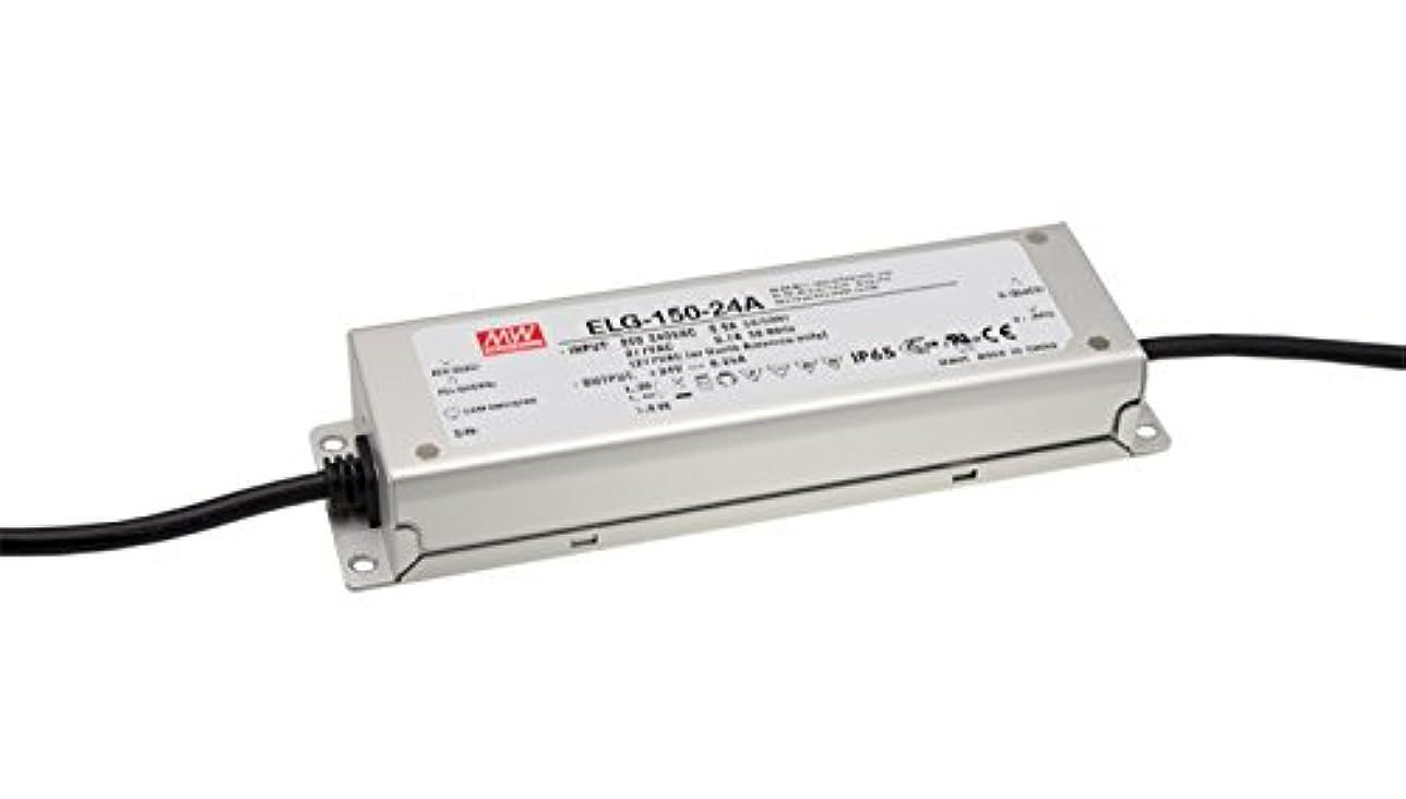 ブロッサムインシュレータ橋MEANWELLスイッチング電源(防水LED電源)ELG-150-12A-3Y 120 12V10A(電流の調節)