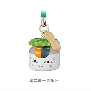 夏目友人帳 ニャンコ先生駄菓子マスコット [3.ミニヨーグルト](単品)