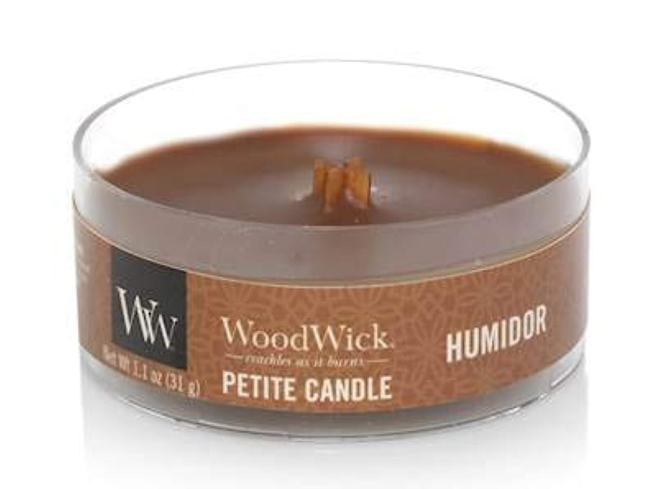 逆説凍結最初はWoodWick HUMIDOR 1.1オンス 香り付きキャンドル