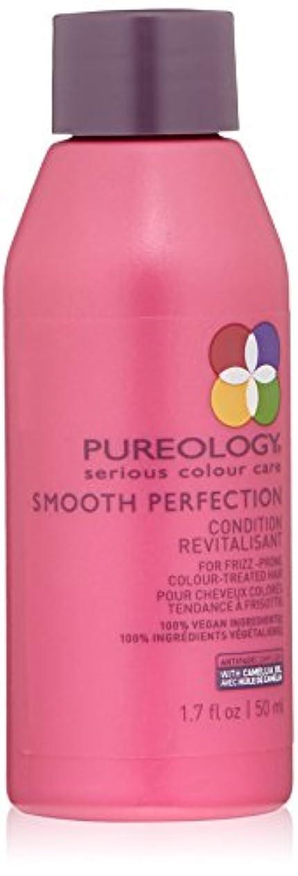 特権的蘇生する香水Pureology 滑らかな完璧コンディショナー、1.7液量オンス 1.7フロリダ。オズ 0