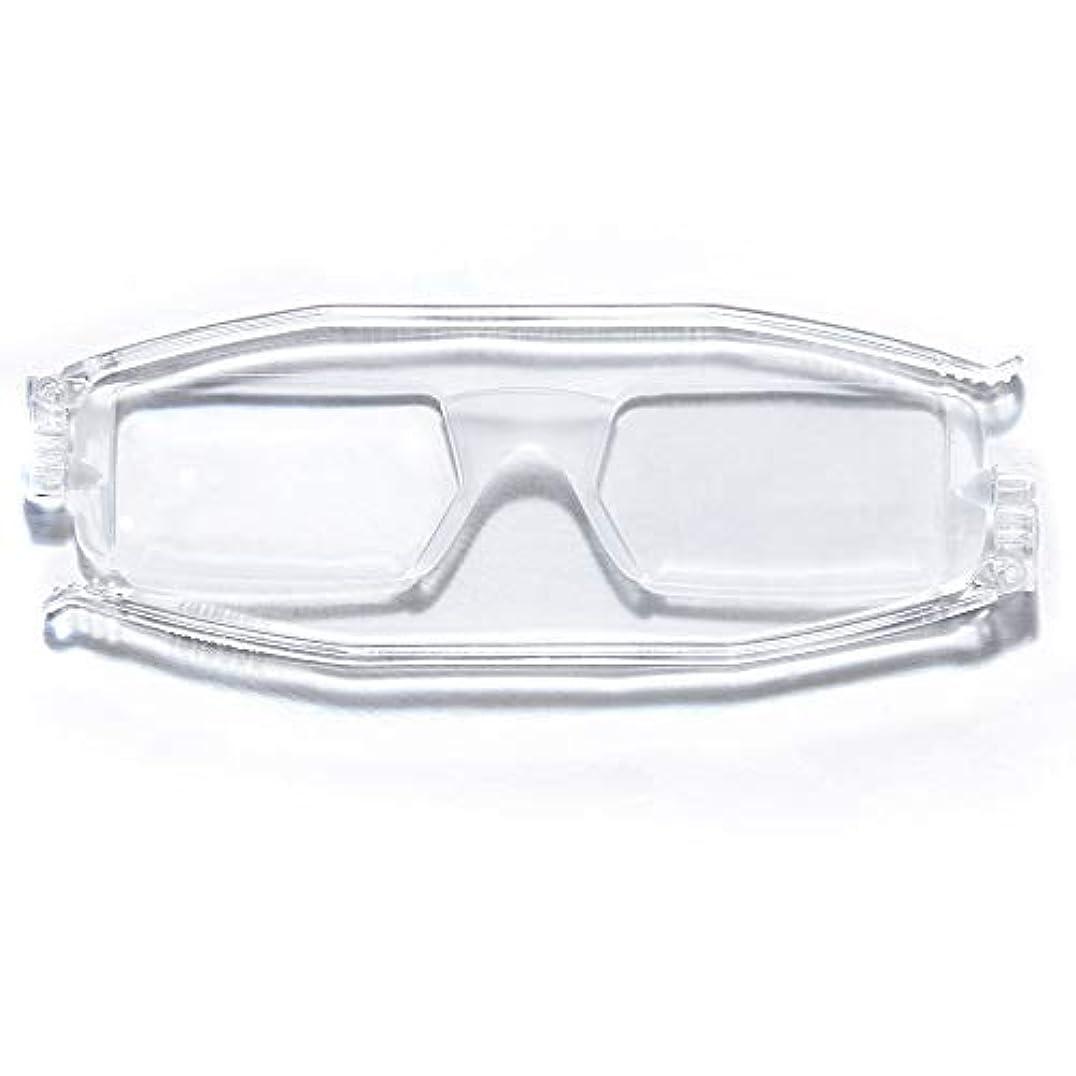 老眼鏡 折りたたみ シニアグラス クリア ナンニーニ 【「+3.00度」のみ】 +3.00度