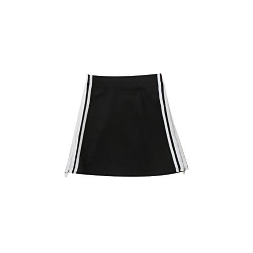 SPINNS ジップタイトミニスカート BLACK -