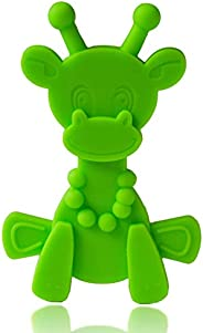 Baby Teething Toy Extraordinaire - Little Bambam Giraffe Teether Toys by Bambeado. Our BPA Free Teethers Help