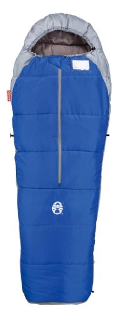光のきらめきバブルコールマン 寝袋 スクールマミー2/C10 ブルー [使用可能温度10度] 2000010424