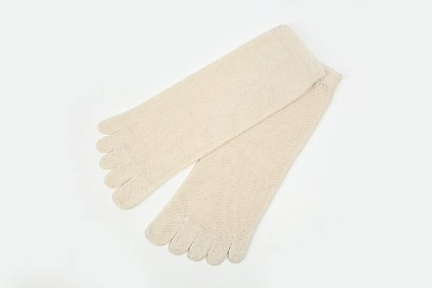 ファセット残る牽引utatane 冷えとり靴下 大人用 オーガニックコットン100% 5本指ソックス