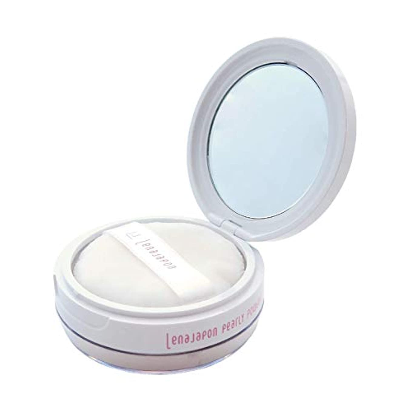 ペンス祈り支援するレナジャポン LJ パーリィーパウダー / LENAJAPON〈moisturizing beauty face powder〉LJ PEARLY POWDER
