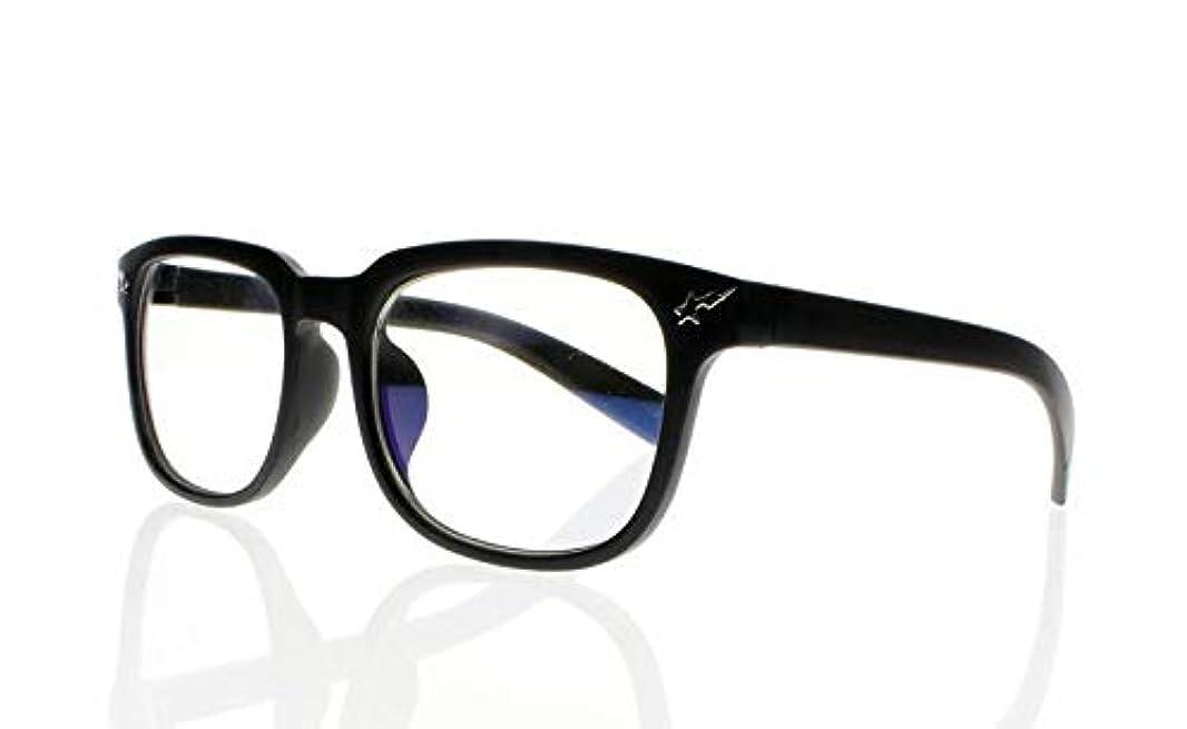 FidgetGear ビッグスクエアユニセックスオタクオタクフレーム軽量老眼鏡+ 1.0?+ 4.0アイウェア ブラック