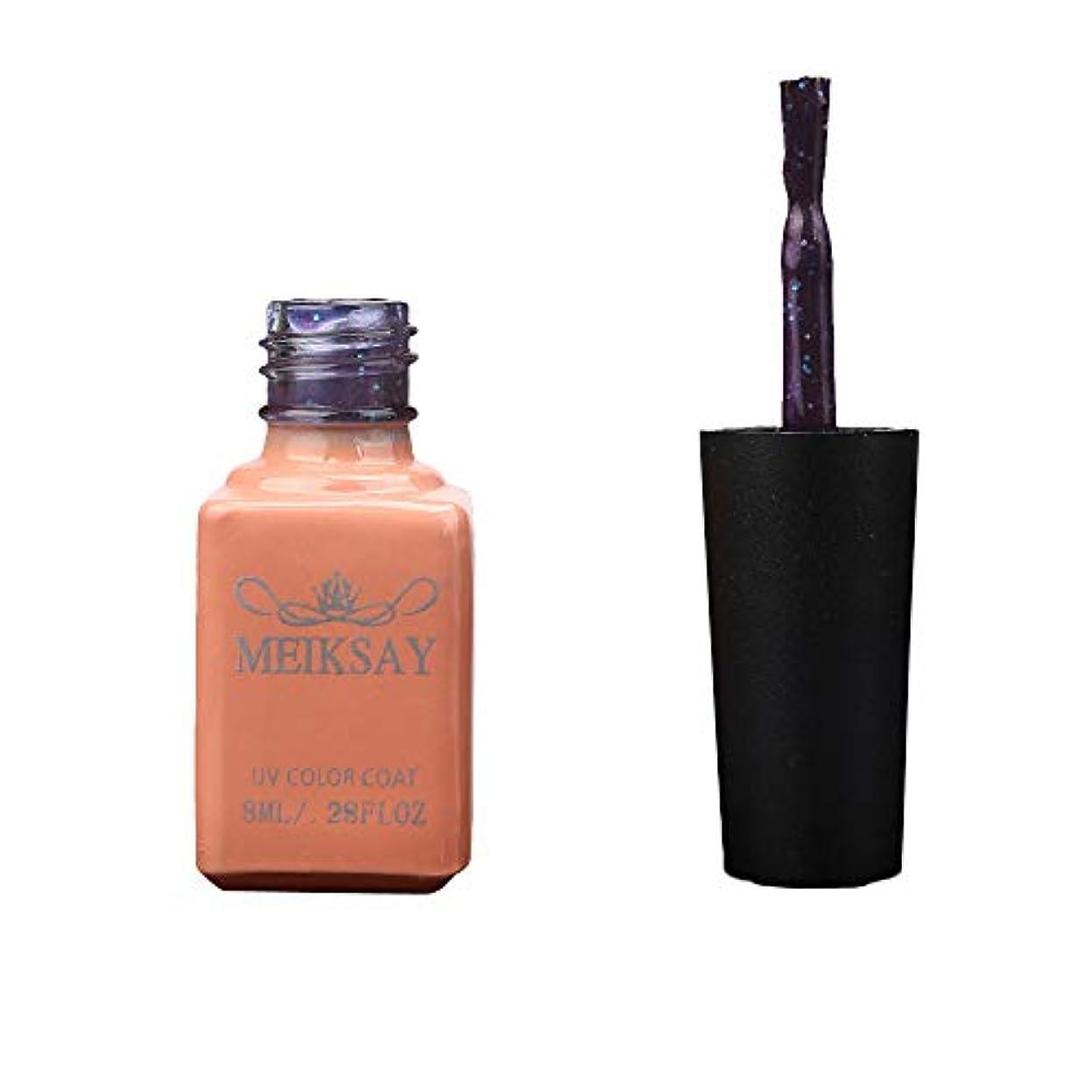 浴室促すマイク12色UV接着剤マニキュアマニキュアLEDキャッツアイカラーダークカラー (A)
