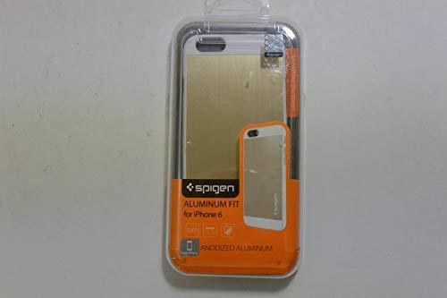 iPhone 6 ケース, Spigen®  アルミパネル  Apple iPhone 4.7 (2014) アルミニウム フィット The New iPhone アイフォン6 (国内正規品) (シャンパン・ゴールド 【SGP10945】)