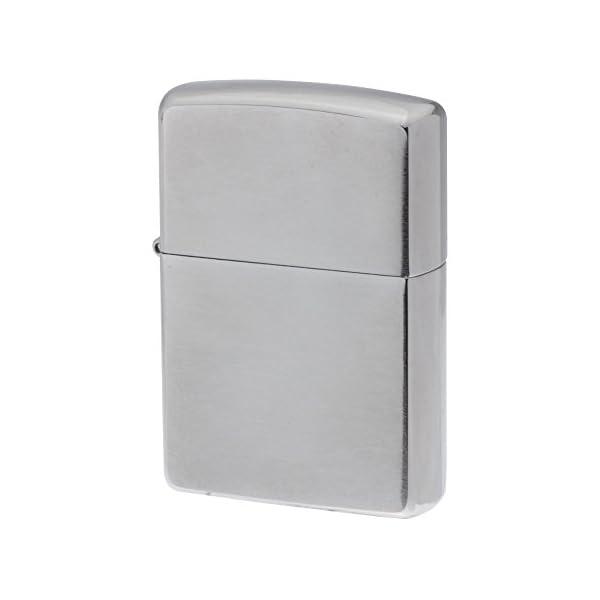 ZIPPO ジッポー ライター 無地 クローム 200の商品画像