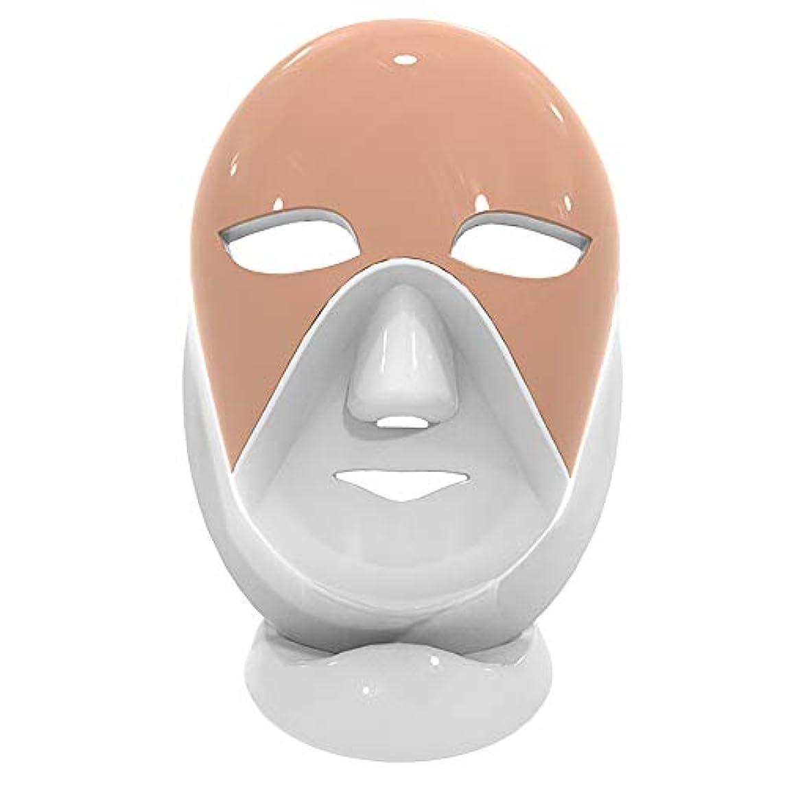 嫌がるエキス安定しました7色LEDのマスクの光子ライト皮の若返り療法の顔のスキンケアのマスク