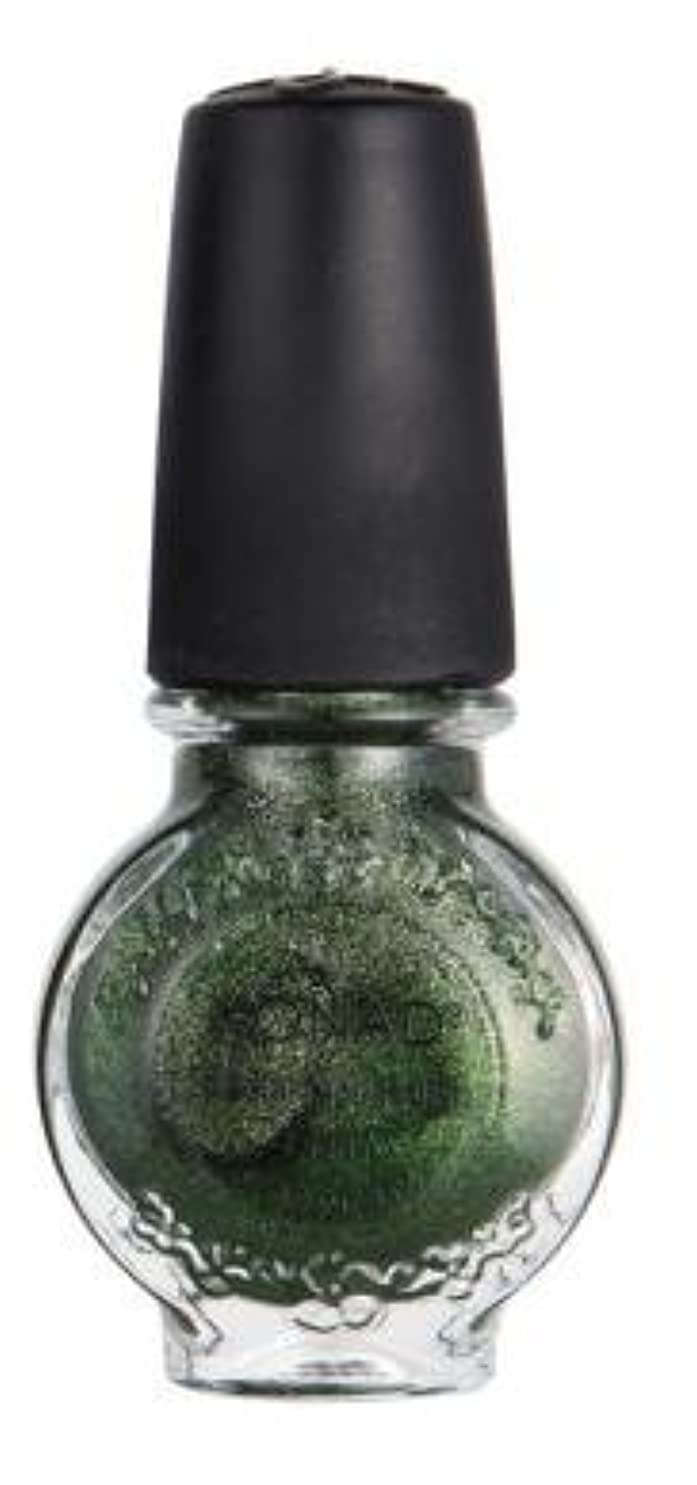 擁する旧正月吸うKONAD コナド スタンピングネイルアート 専用ポリッシュ s43 モスグリーン(11ml)