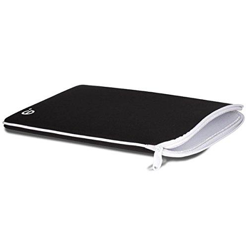 be.ez(フランス) マックブックエアー13インチ用ケース LArobe MacBook Air 13 Black/White ブラック/ホワイト QZB100678-AIR