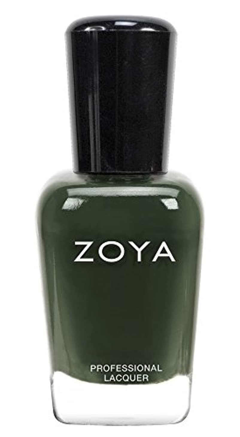 傀儡アレルギー侵入ZOYA ゾーヤ ネイルカラーZP695 HUNTER ハンター 15ml  2013年秋CASHMERES 2013FALL Collection 深い森のようなグリーン マット/クリーム 爪にやさしいネイルラッカーマニキュア