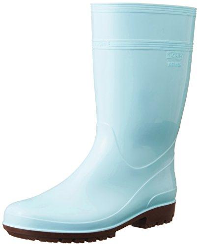 ミドリ安全 ハイグリップ長靴 24cm ブルー HG2000...