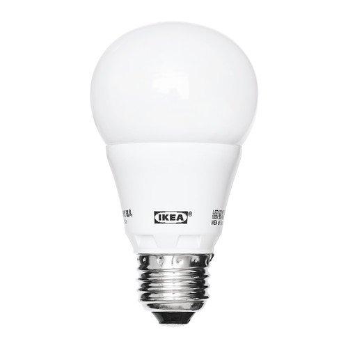 IKEA(イケア) LEDARE LED電球 E26 球形 オパールホワイト