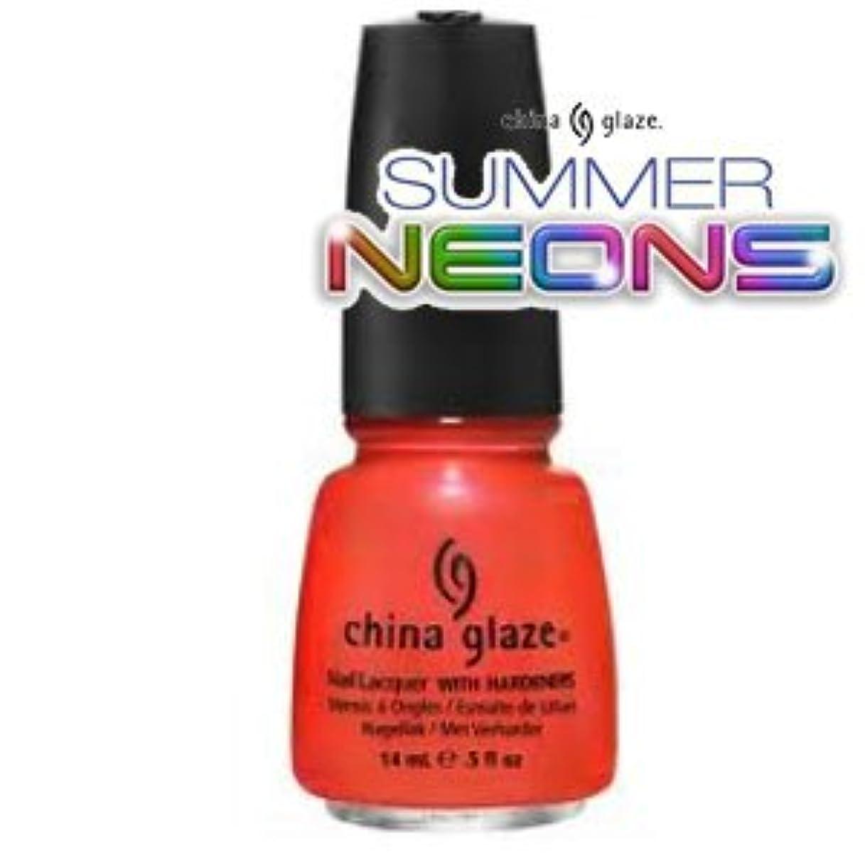 有益活気づく冷酷な(チャイナグレイズ)China Glaze Surfin ' For Boysーサマーネオン コレクション [海外直送品][並行輸入品]