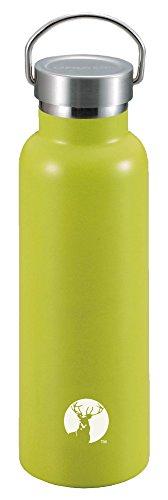キャプテンスタッグ(CAPTAIN STAG) スポーツボトル 水筒 直飲み ダブルステンレスボトル 真空断熱 HDボトル 600ml グリーン UE-3368