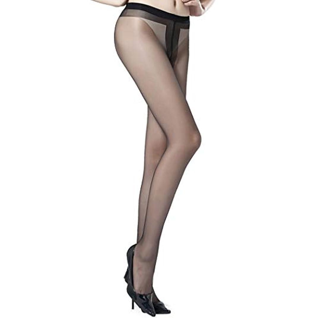 パッケージ講義写真の女性用パンストアンチフックシルク極薄ストッキング、ハイウエストシアータイツ、強化パンティとつま先を備えたレギュラーパンスト,黒,5pair