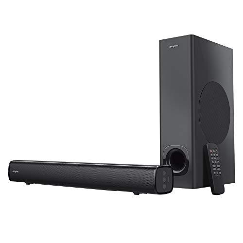 Creative サウンドバーCreative Stage 最大出力160W 光デジタル/AUX/Bluetooth/USB(メモリー用)リモコン付き SP-STGE-BK