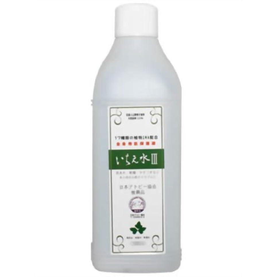 圧力程度いとこいちえ水III 無添加ボディーローション 1000ml