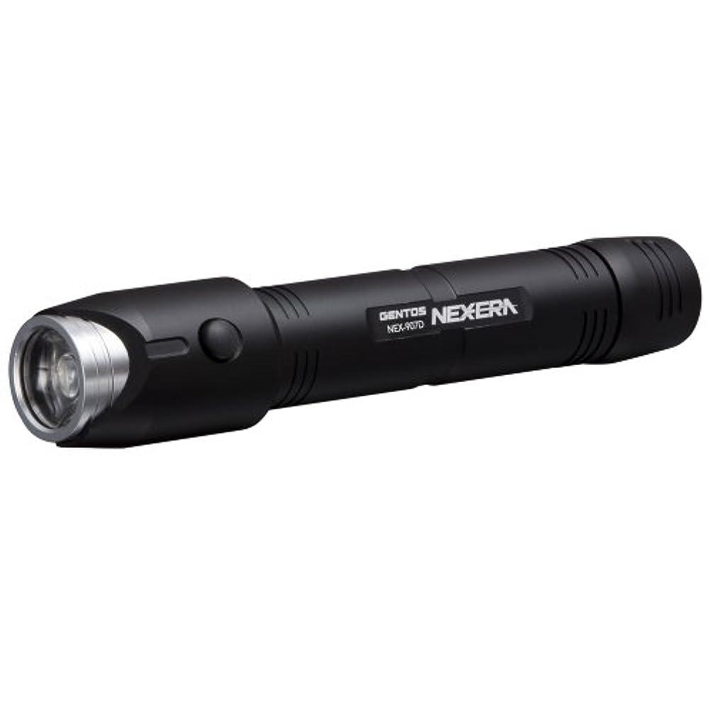 生産的遮るマナーGENTOS(ジェントス) 懐中電灯 ネクセラ 【明るさ330ルーメン 実用点灯18時間】 NEX-907D