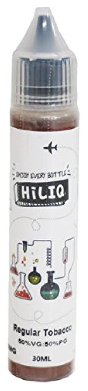 柔らかい人差し指熱帯の電子タバコ リキッド HiLIQ(ハイリク) 30ml レギュラー RegularTobacco