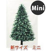 トーカイ クリスマスタペストリー ウッド柄パネル生地 【ミニサイズ】60x106cm