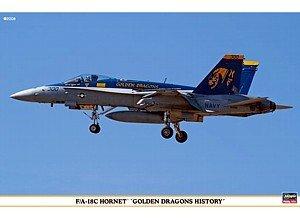 1/72 F/A-18C ホーネット ゴールデンドラゴンズ ヒストリー 00964