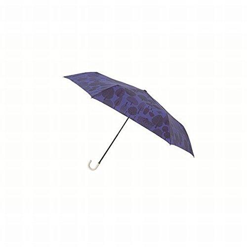 マブ(mabu) 【折りたたみ傘・コンパクト】レジェ フラット(レディース雨傘)【フォレストネイビー/**】
